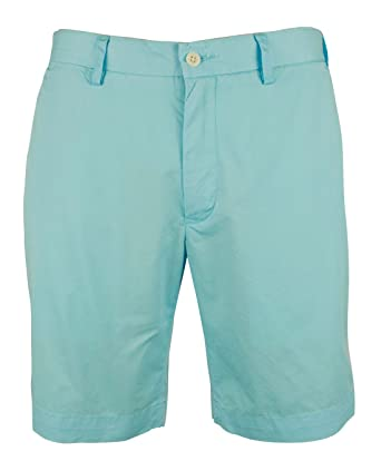 Polo Ralph Lauren Classic Fit Flat Front Newport Chino Shorts Hammond Blue  (33)