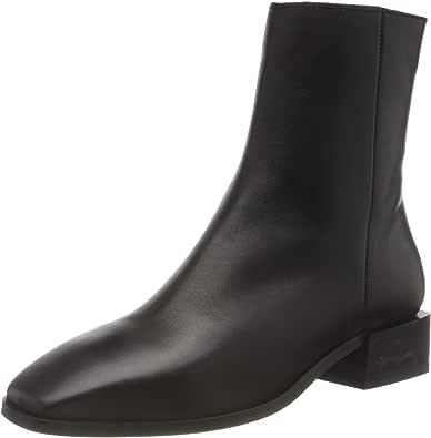 Vero Moda Vmlil Leather Boot, Botas Cortas al Tobillo Mujer