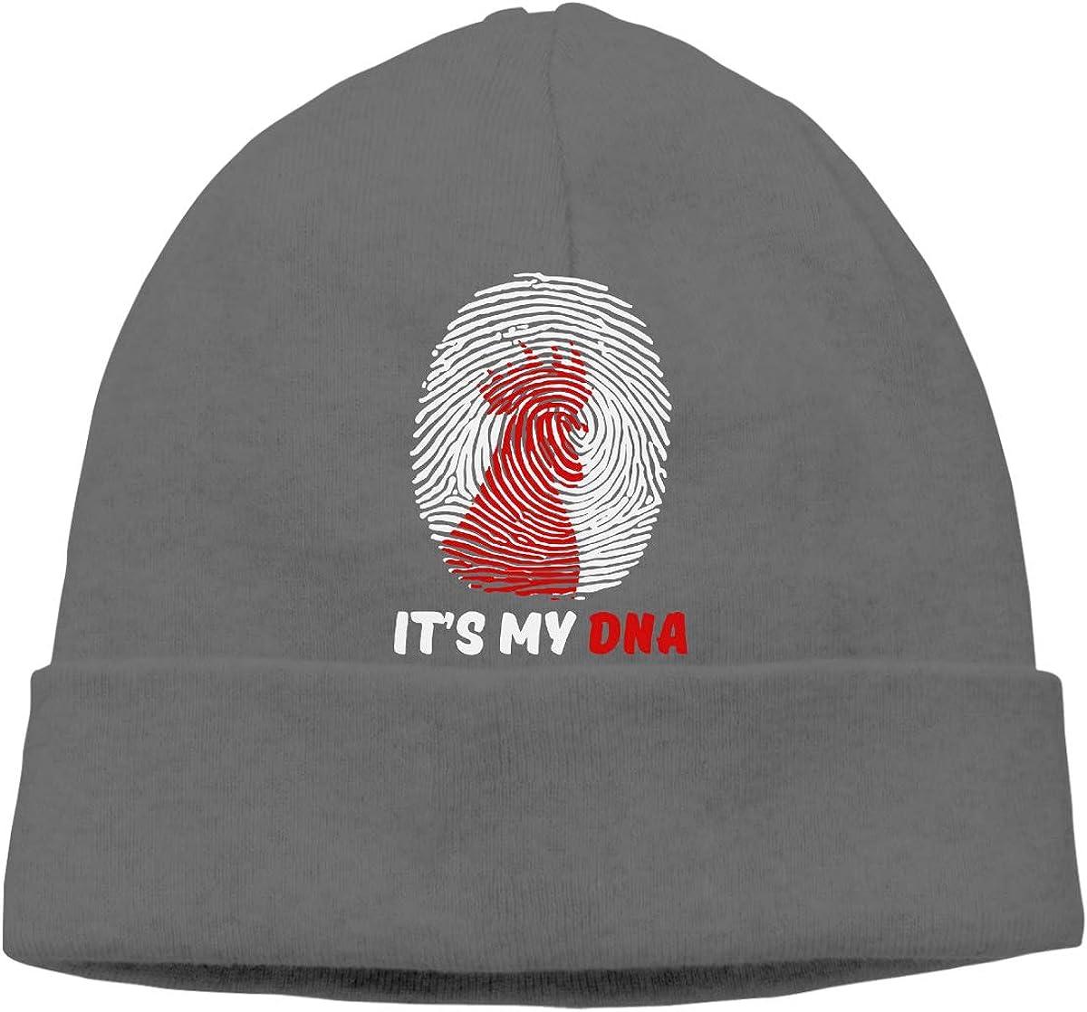 Q10 Mens/&Womens My DNA Soft Beanie Hat Soft Hat