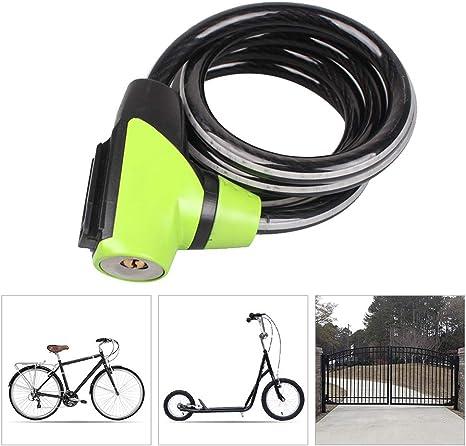 LieYuSport Candado Moto Bici,Candado Bicicleta Alta Seguridad ...