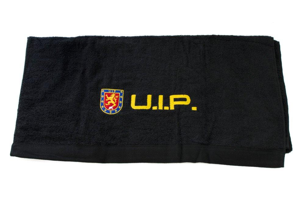 Alpimara Toalla Policia UIP (50 x 100 cm, Negra)