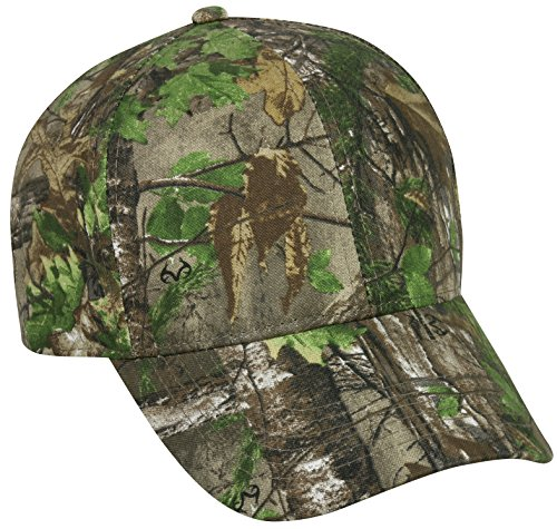 (Realtree Adjustable Closure Blank Cap, Realtree Xtra Green Camo)
