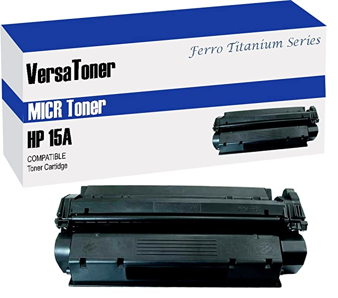 VersaToner - HP 15A (C7115A) Black (MICR) - Toner Cartridge Toner Cartridges at amazon