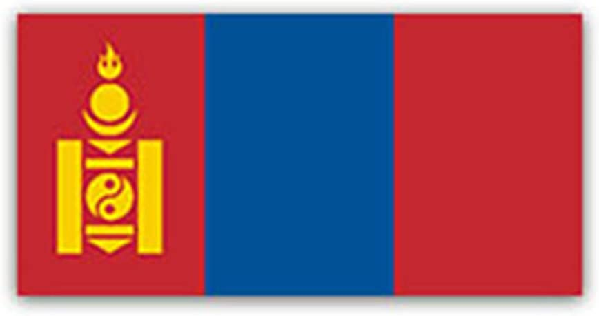 Aufkleberbogen Mongolei Aufkleber Set Flagge Fahne