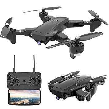 MeterMall HDRC H36 Plegable Drone HD Cámara Gran Angular Antena ...