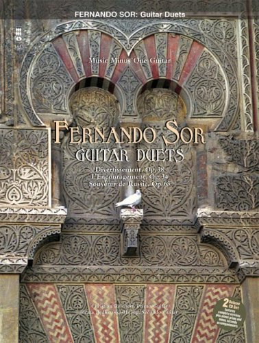 Fernando Sor Classical Guitar Book - Sor - Classic Guitar Duos: 2-CD Set