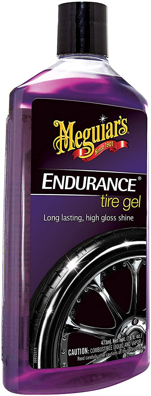 Meguiar's G7516 Endurance Tire Gel - 16 oz. – Premium Tire Gel for a Lasting Glossy Shine