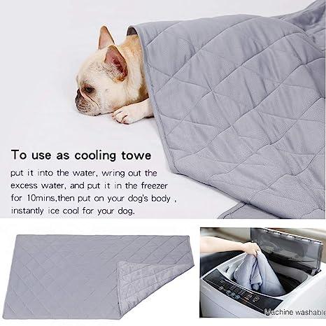Amazon.com: Naivedream Reversible Large Pet Cooling Mat Pad ...