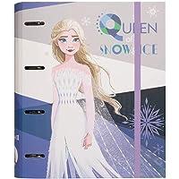 Grupo Erik - Carpeta 4 anillas troquelada Premium Frozen 2, Disney, A4 (26x32 cm) (CAT0071)