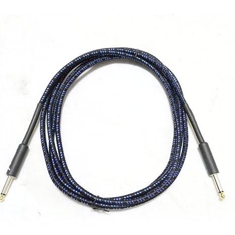 WANDIC Cable de guitarra de 3 metros de cable para instrumentos eléctricos de alta calidad AMP