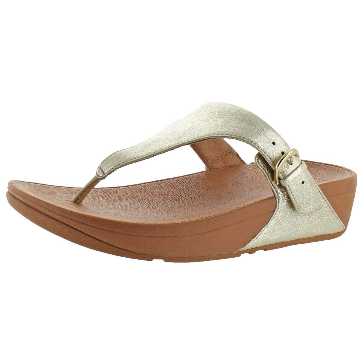 4a9624796af5ca Galleon - FitFlop Women s The Skinny Flip Flop Pale Gold 5 M US