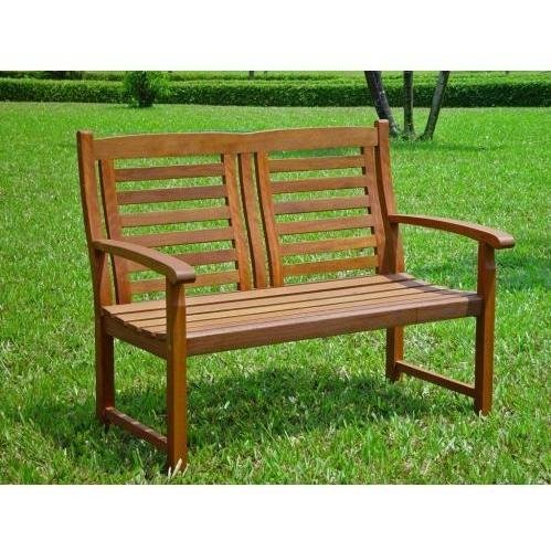 UPC 700493790753, International Caravan Trinidad Outdoor 4' Patio Bench