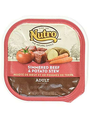 Nutro 50411783 Simmered Beef & Potato Stew Caned Dog Food, 24 Ea/3.5 Oz