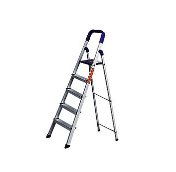 CIPLA PLAST High Strength Heavy Duty Multipurpose Folding Aluminium Ladder  with Platform - Home Pro 5 Steps (5 Years Warranty): Amazon.in: Home  Improvement