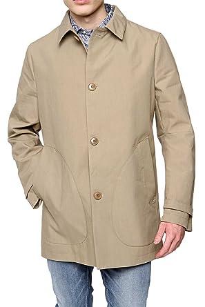 Drykorn Herren Jacke Mantel ULSTER, Farbe  Beige, Größe  54  Amazon.de   Bekleidung 2372375846