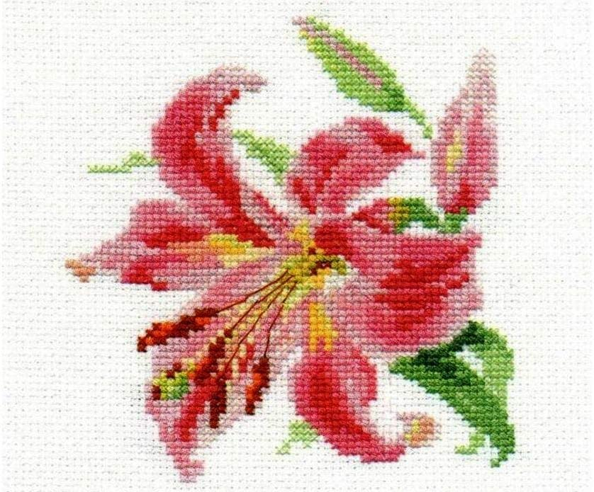 Angel of Dream 0-94 Unprinted Counted Funny Needlework Cross Stitch Kit