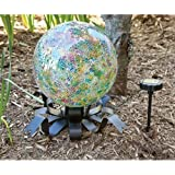 Evergreen Enterprises EG491557 Solar Gazing Ball Stand