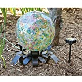 Evergreen Enterprises EG491557 Solar Gazing Ball Stand (Set of 1)