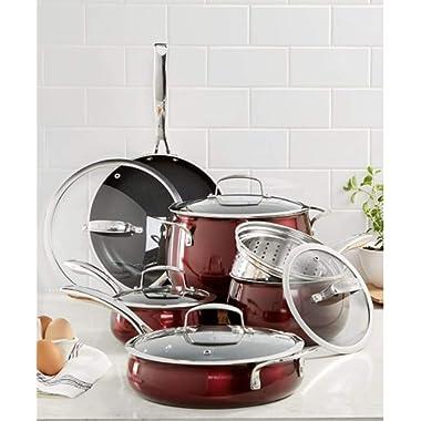 Belgique Stainless Steel Cookware, 11 Piece Set