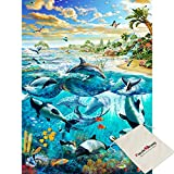 Impuzzle Dance Of Dreams - 500 Piece Luminous Jigsaw Puzzle [Pouch Included]
