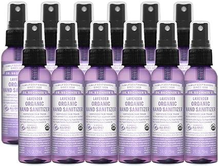 Amazon Com Dr Bronner S Organic Hand Sanitizer Spray