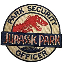 Patch Squad Men's Jurassic Park Ranger Security Officer Logo Patch