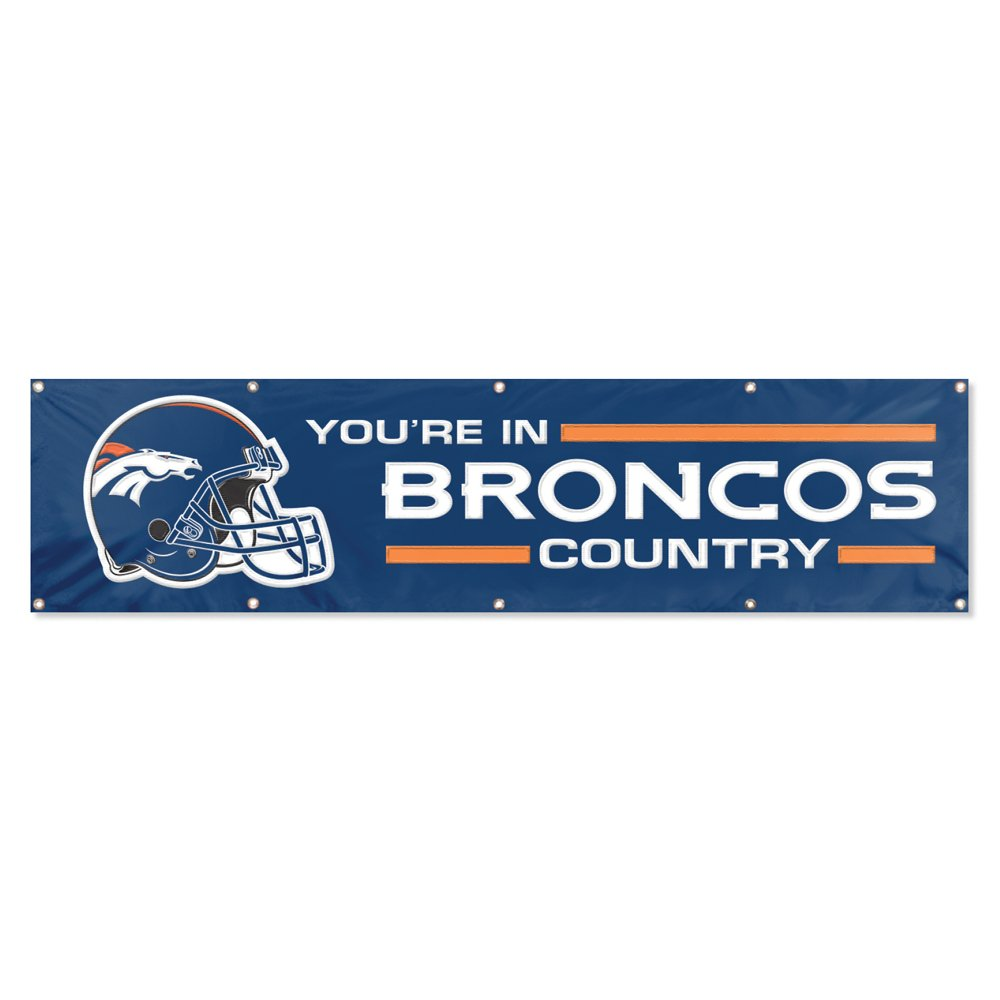 Party Animal Denver Broncos 8'x2' NFL Banner by Party Animal
