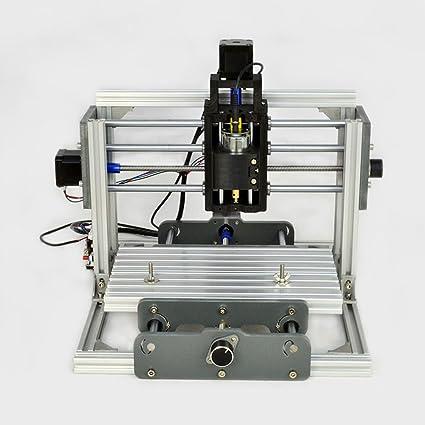 Cnc 2417 Mini Diy Mill Router Kit Usb Desktop Metal Engraver Pcb