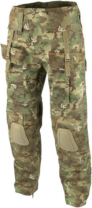 Mil-Tec Mens Tactical Trousers Warrior Arid Woodland