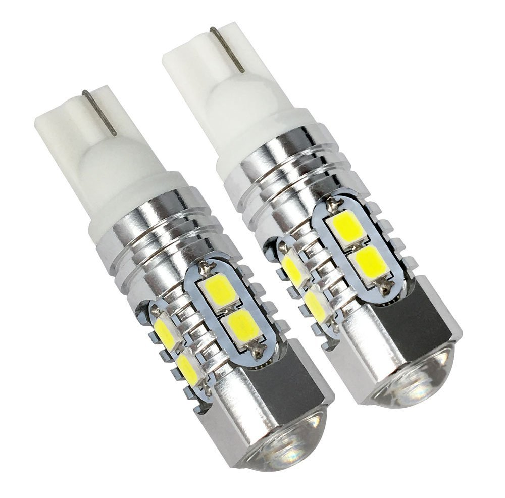 Holonyak Extremely Bright Max 50W High Power 912 921 T10/T15 LED Backup Reverse LightS,Parking lights, Xenon White