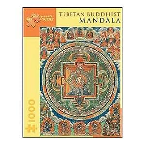 Tibetan Buddhist Mandala 1000 Piece Jigsaw Puzzle: Toys & Games