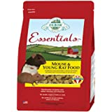 Oxbow Essentials Mouse and Young Rat Natural Pet Food Pellets 2.5 Pounds Bag