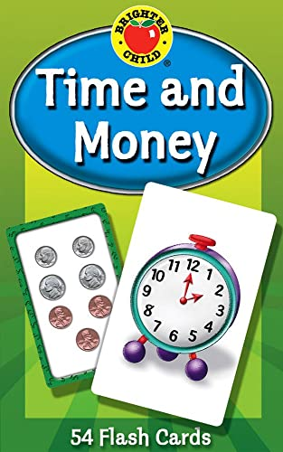 Time and Money (Brighter Child Flash Cards)