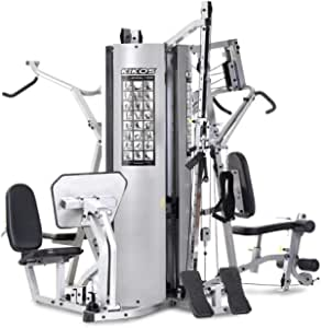 Estação de Musculação 518BK Aço Carbono Kikos Fitness KW Cinza/Preto