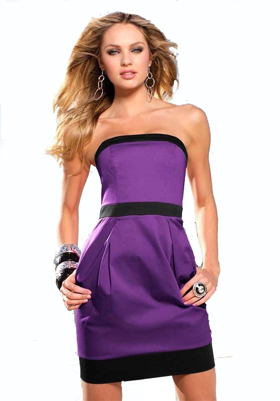 Damen-Kleid Corsagenkleid Mehrfarbig