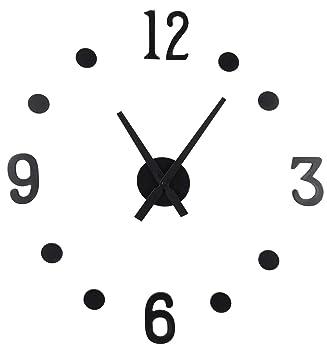 Spetebo DIY Wanduhr 13-teilig - XXL Uhr zum selber gestalten ...