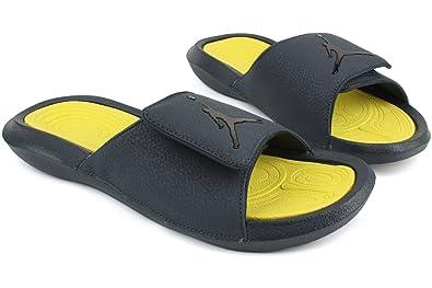 5a28d1816a447f Nike Mens Jordan Hydro 6 Navy Synthetic Sandals 12 UK  Amazon.co.uk ...