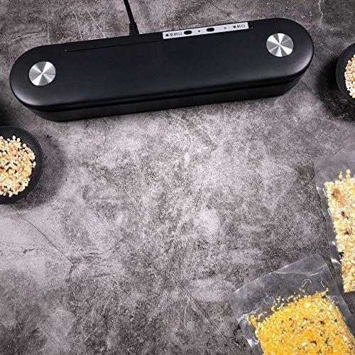 Machine d'emballage sous vide Machine de scellage sous vide domestique noir Sac d'économie alimentaire Scellage alimentaire
