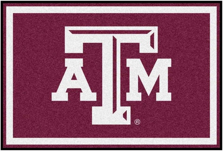 FANMATS NCAA Texas A/&M University Aggies Nylon Face 5X8 Plush Rug