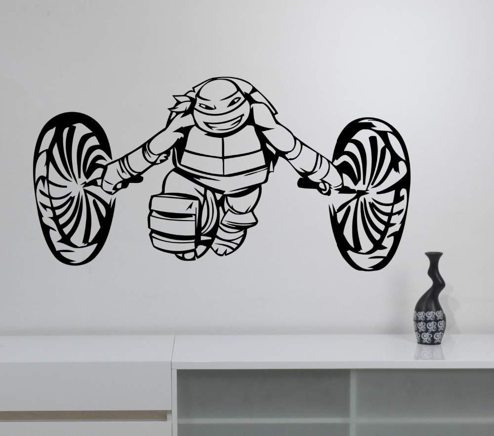 zxddzl Tortugas Ninja Tatuajes de Pared para niños ...