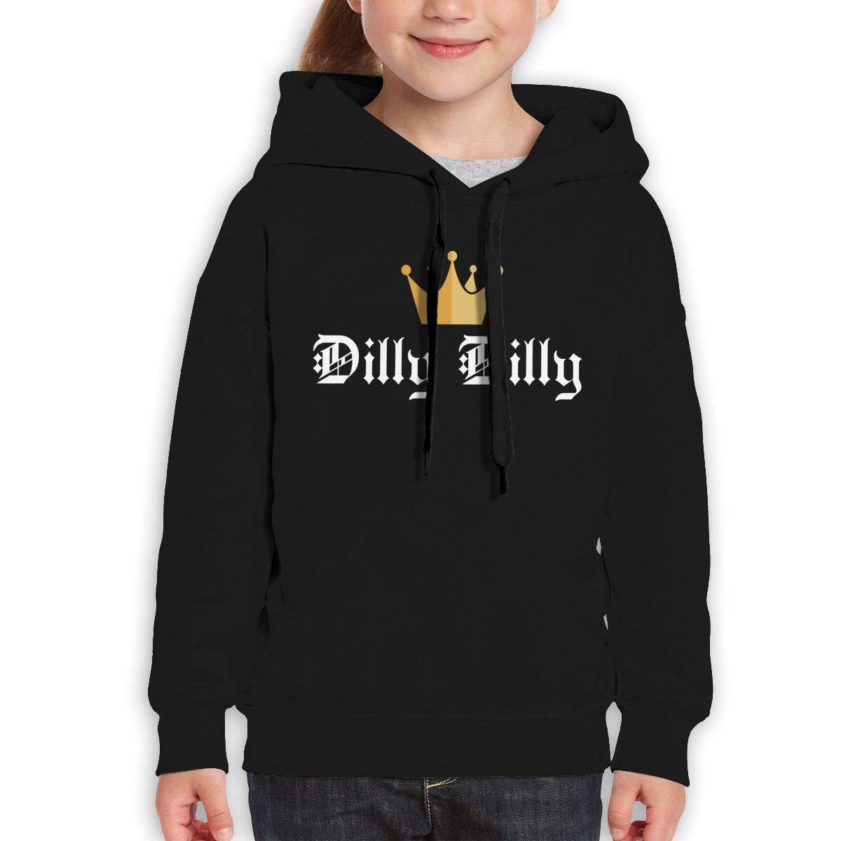 Xxxx Dtjscl Boys Girls Dilly Dilly Teen Youth Fleeces Black