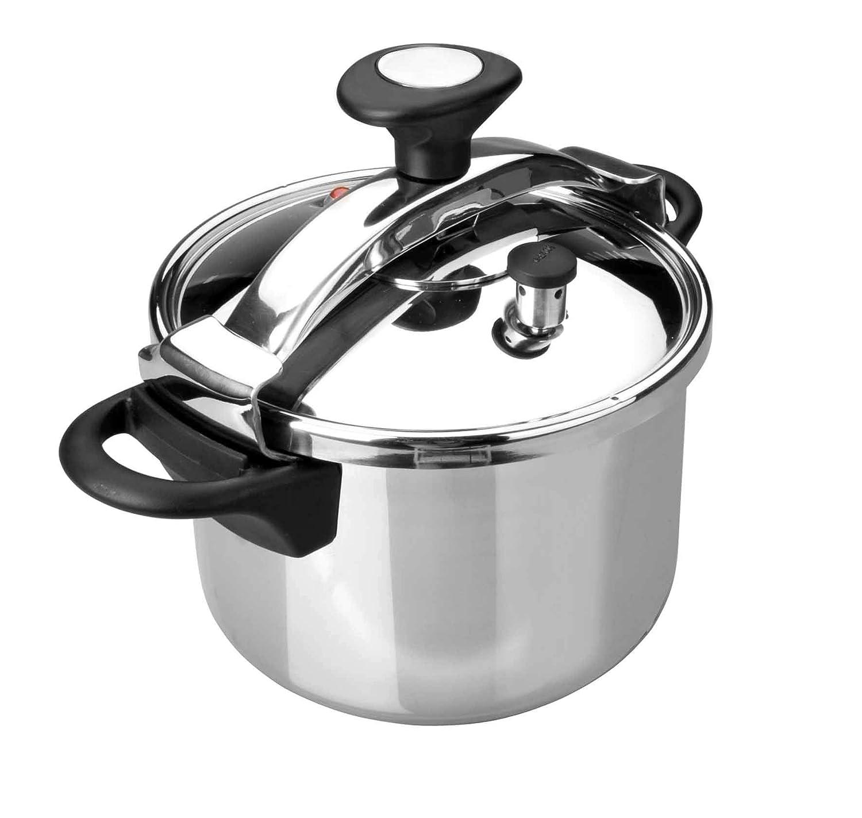 Amazon.com: Lacor 71872 – Olla a presión 12 Lit.: Kitchen ...
