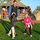 TOYSHARING Plastic Horseshoes Game Safety Rubber