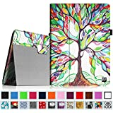Fintie Folio Case for iPad 4th Generation with Retina Display, the New iPad 3 & iPad 2 Slim Fit Stand Smart Cover with Auto Sleep / Wake Feature