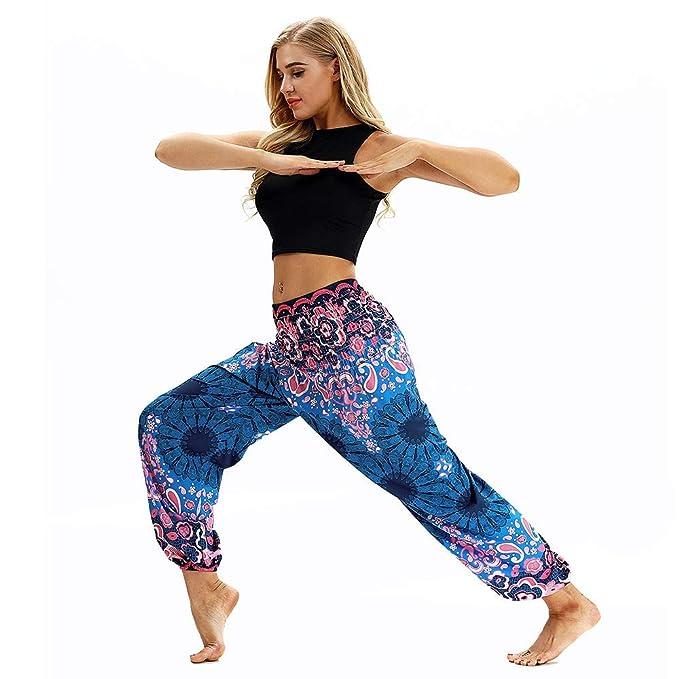 88c8ef3009f9 Great Comfort Pantaloni da Yoga, Hippy per Uomo e Donna Larghi e Comodi Fit  con