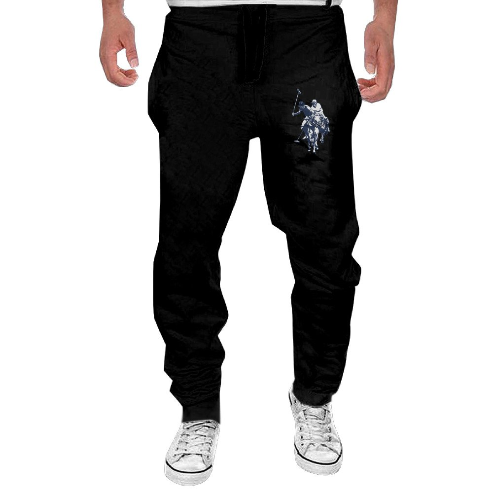 Fashionable U.S. Polo Assn Logo Polo Association Men's Sweatpants Pants Drawstring