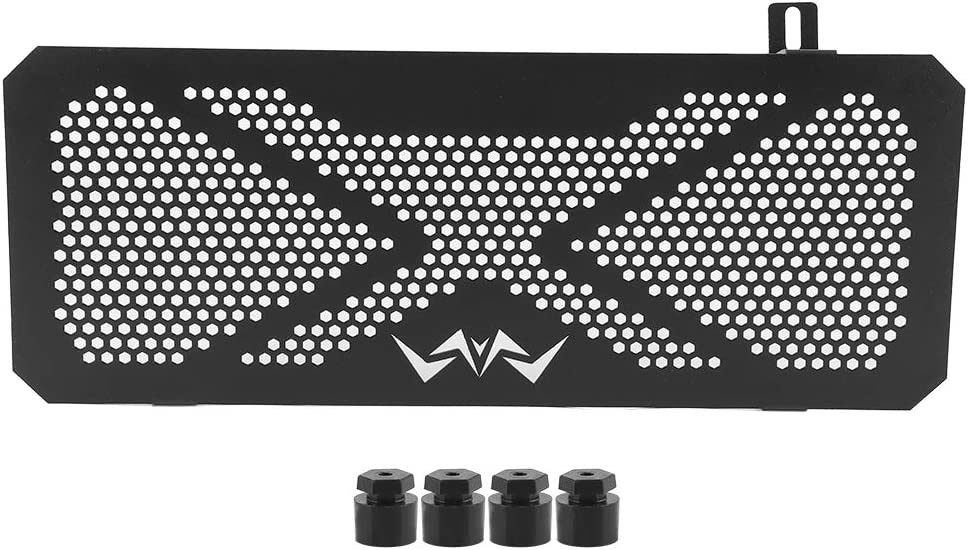 Yctze Motorcycle Engine Radiator Bezel Grille Guard Cover Fit for Kawasaki Versys 650 2015‑2020