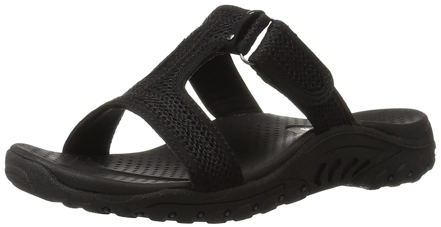 Amazon | Skechers Women's Reggae T Strap Sandal | Sport Sandals & Slides