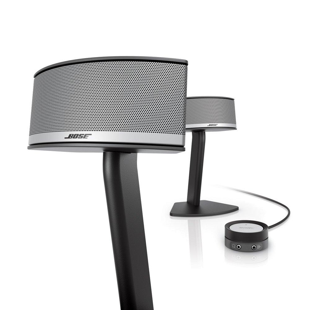 Bose Companion 5 Multimedia Speaker System – Graphite/Silver by Bose (Image #2)