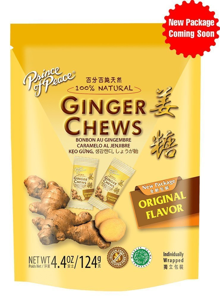 Prince Of Peace Ginger Candy, 4.4 oz (Pack of 6)